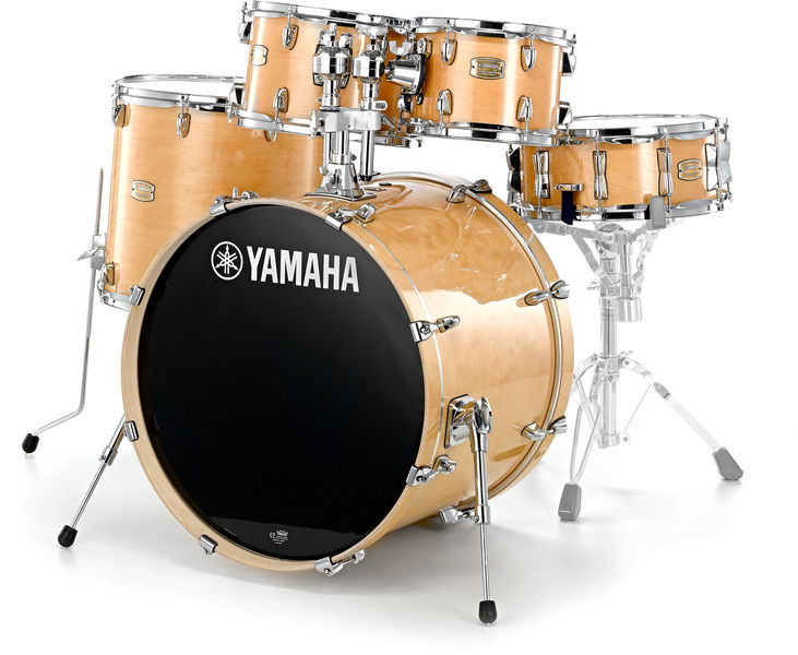 Yamaha stage custom standard nw 39 14 thomann uk for Yamaha stage custom steel snare drum 14x6 5