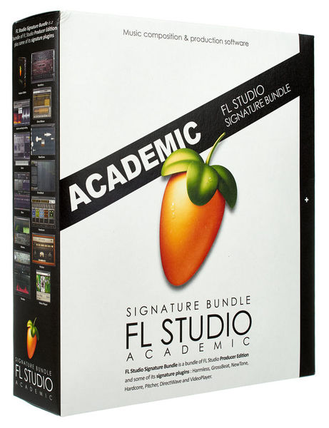 FL Studio Sign. Bundle 12 Edu Image-Line