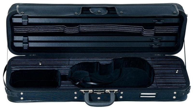 Gewa Diagonale Violin Case Linea BK