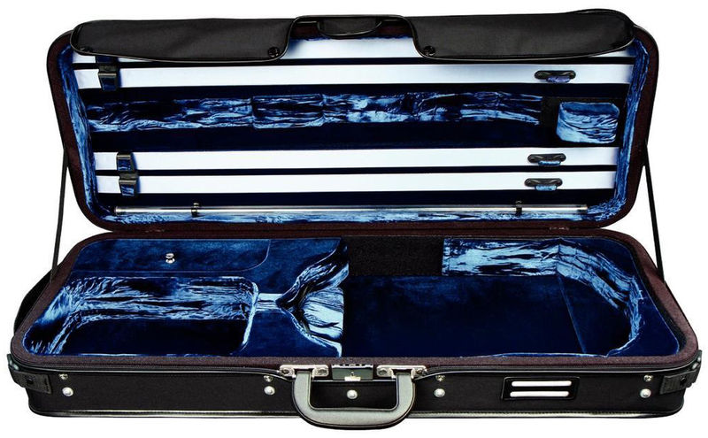 Gewa Strato DL Viola Case BK/DB