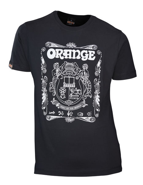 Orange Original T-Shirt Crest L