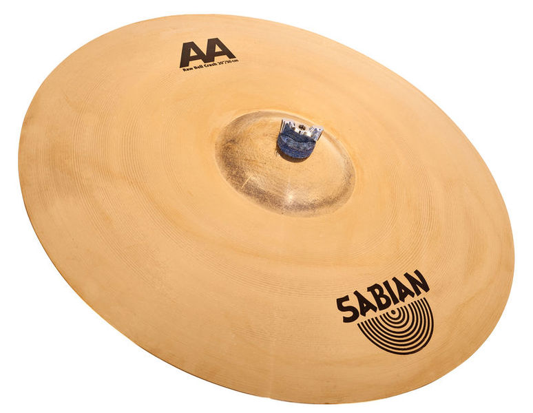 "Sabian 20"" AA Raw Bell Crash"