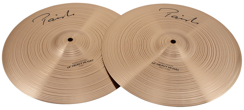 "Paiste 14"" Precision Heavy Hi-Hat"