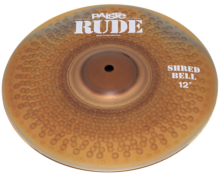 "Paiste 12"" Rude Shred Bell"