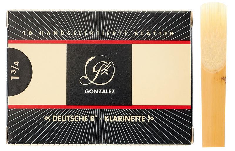 Gonzalez Clarinet Reed German 1,75