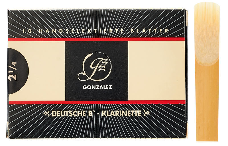 Gonzalez Clarinet 2,25 Reed German