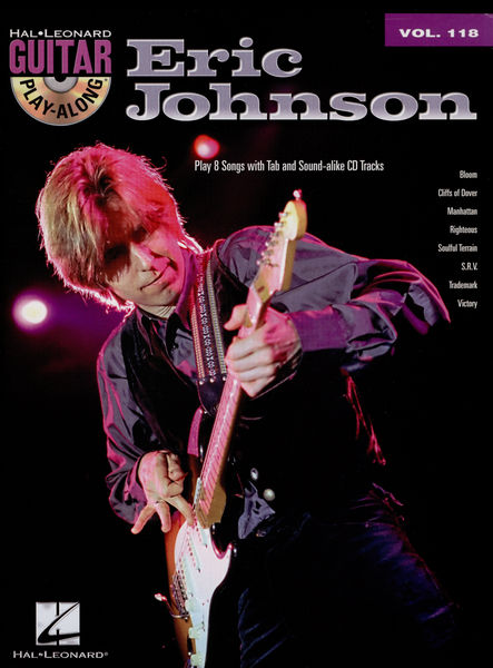 Hal Leonard Guitar Play Along Eric Johnson