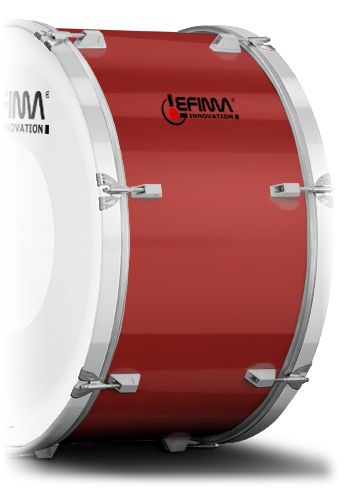 Lefima Cylinder Decor Color Red