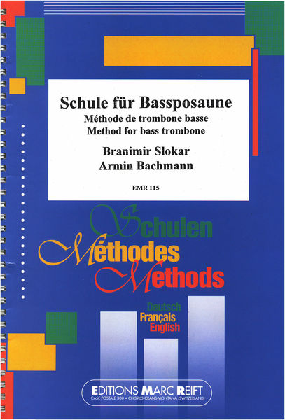 Editions Marc Reift Method For Bass Trombone