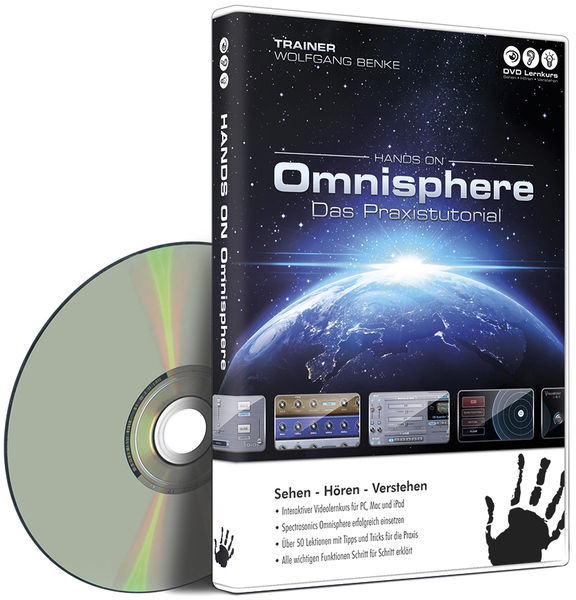 DVD Lernkurs Hands On Omnisphere
