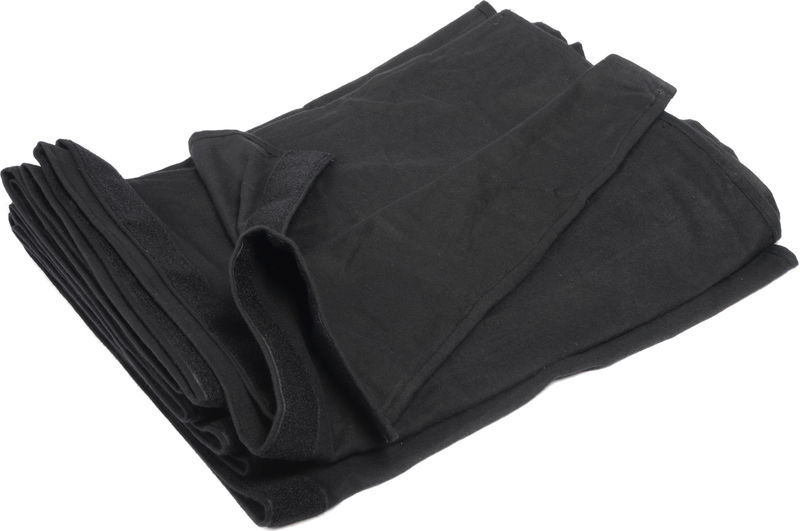 Stairville Skirt 300g/m² 10.0x1.0m Bk