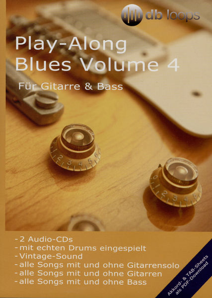 db loops Play Along Blues Vol 4