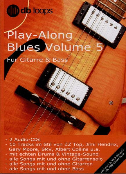 db loops Play Along Blues Vol.5