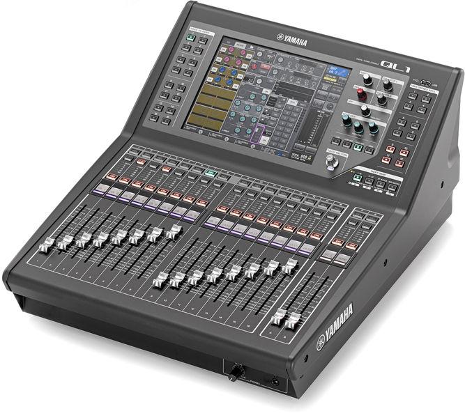 yamaha mixer. yamaha ql1 mixer