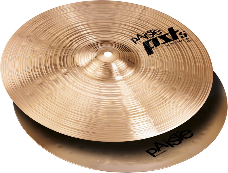 "Paiste PST5 14"" Medium Hi-Hat '14"
