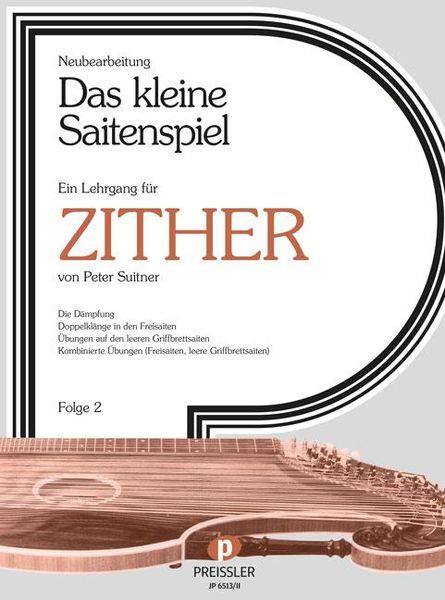 Musikverlag Preissler Kleine Saitenspiel Zither 2