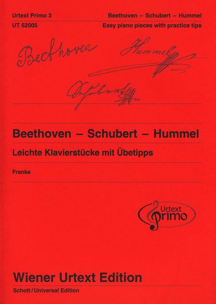 Wiener Urtext Edition Beethoven Schubert Hummel