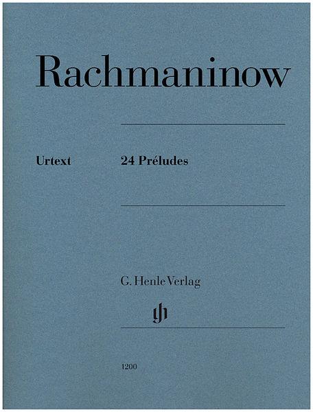 Henle Verlag Rachmaninow 24 Préludes