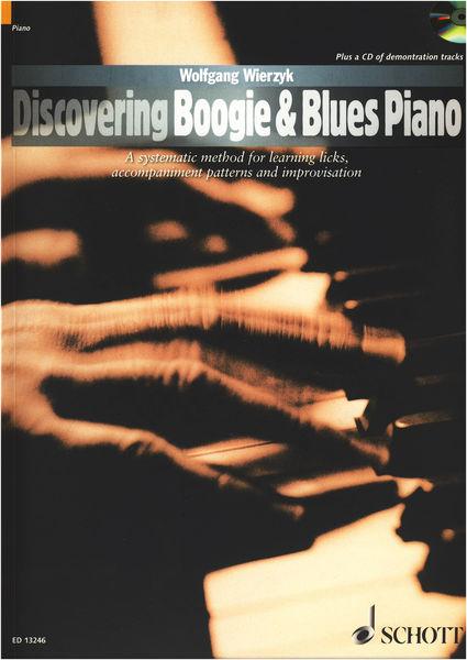 Schott Discovering Boogie Blues Piano