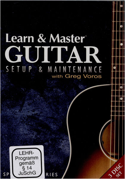 Hal Leonard Learn & Master Guitar Setup