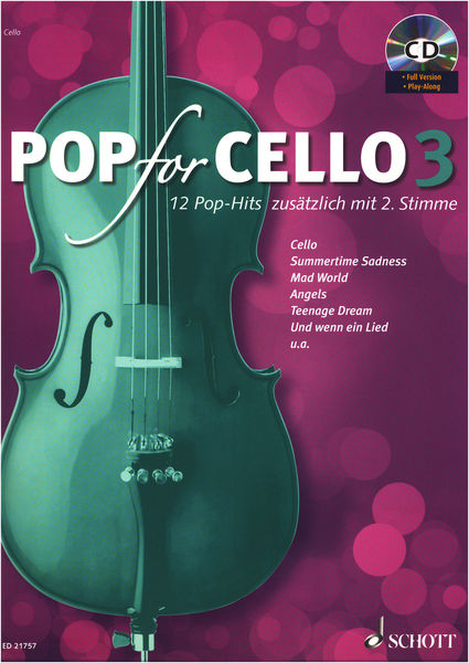 Schott Pop For Cello 3