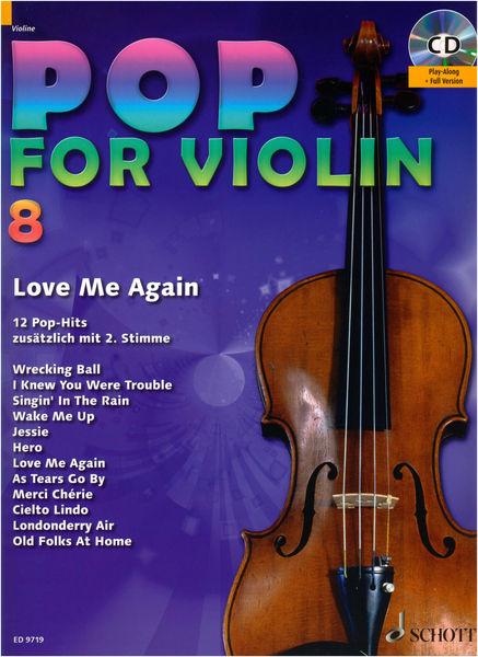 Schott Pop For Violin Vol.8