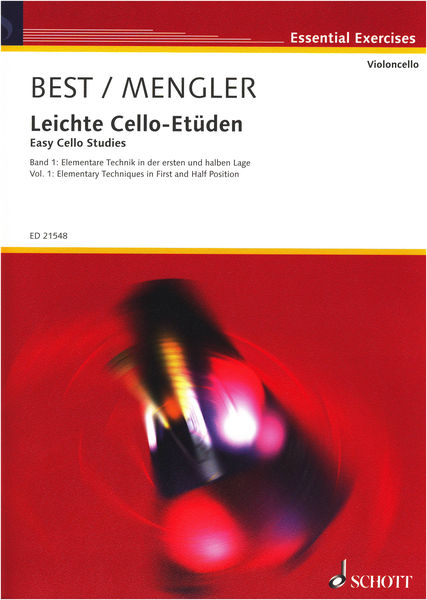 Schott Easy Cello Studies 1
