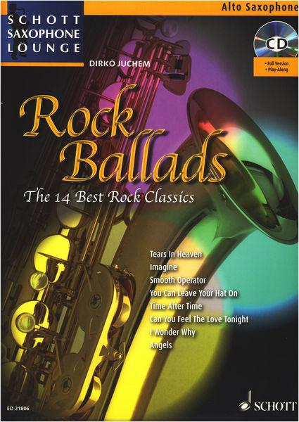 Rock Ballads A-Sax Schott
