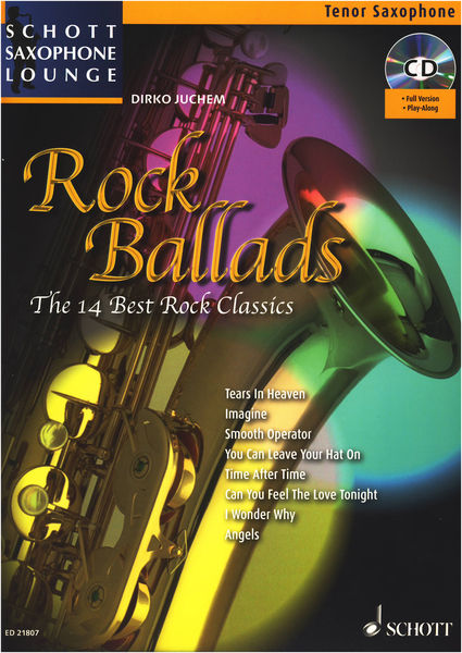 Rock Ballads T-Sax Schott