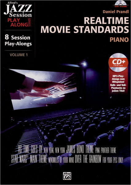 Alfred Music Publishing Realtime Movie Standards Piano