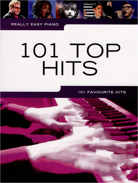Wise Publications Really Easy Piano:101 Top Hits