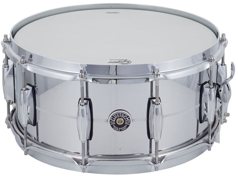 "Gretsch 14""x6,5"" Brooklyn Chrome/Steel"