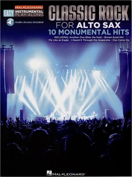 Hal Leonard Alto Sax Easy Classic Rock