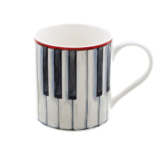 Music Sales Mug - Piano Keys