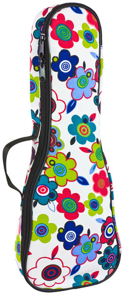 Tom and Will 63UKS Flowers Ukulele Bag