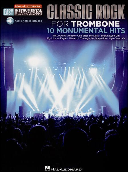 Hal Leonard Trombone Easy Classic Rock