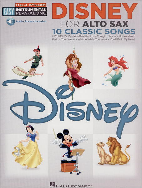 Hal Leonard Altsax. Easy Play Along Disney