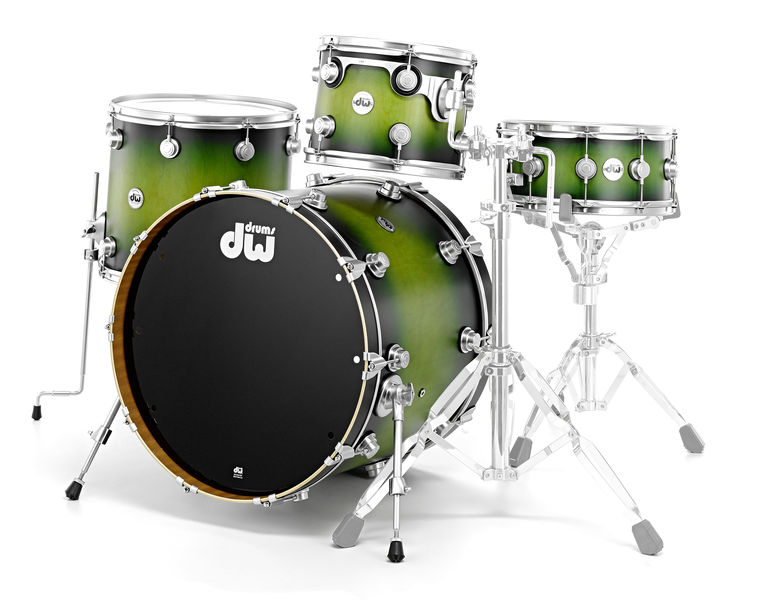 DW Satin Specialty Green Black MM