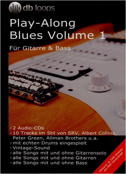 db loops Play Along Blues Vol.1