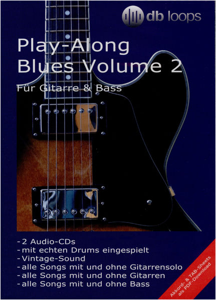db loops Play Along Blues Vol.2