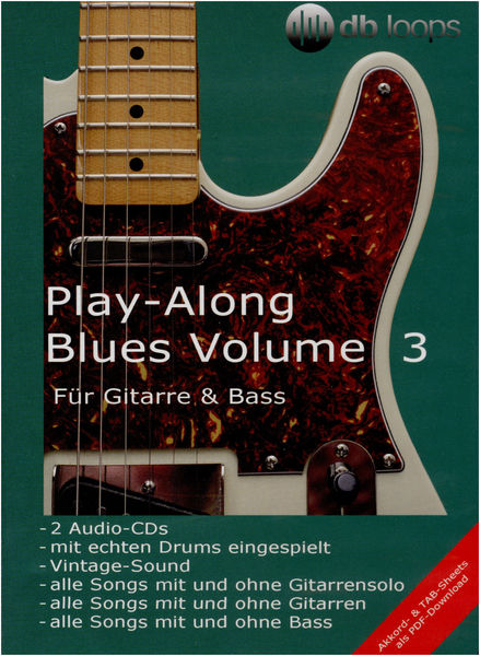 db loops Play Along Blues Vol.3