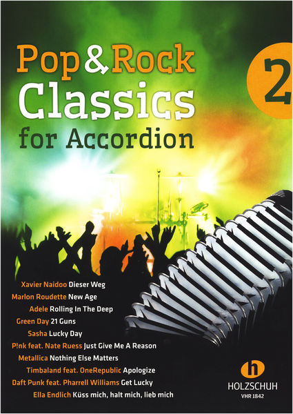Holzschuh Verlag Pop Rock Classics Accordion 2