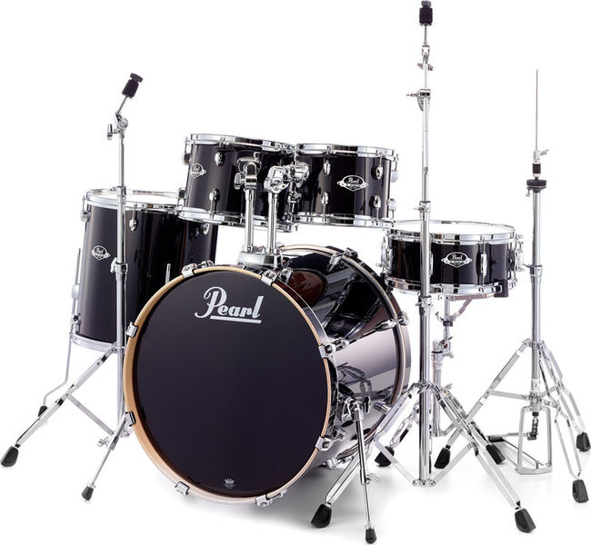 Pearl EXL725S/C Export Lacquer Black