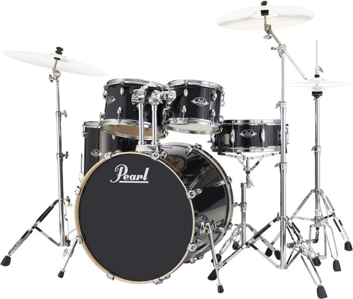 Pearl EXL725F/C Export Lacquer Black