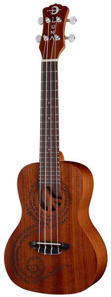 Luna Guitars Ukulele Malu Peace