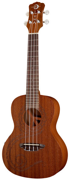 Luna Guitars Ukulele Malu Peace Electric