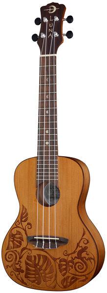 Luna Guitars Ukulele Lizard Solid Cedar