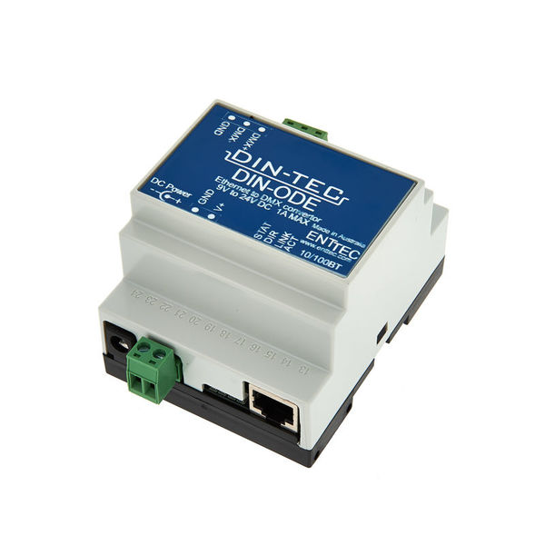 Enttec DIN-ODE DMX Ethernet Gateway