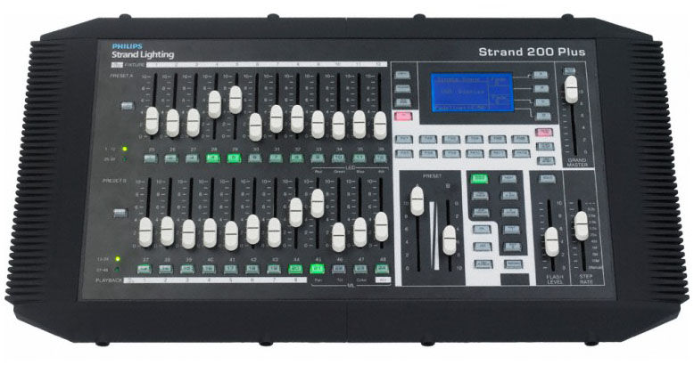 Strand Lighting 200 Plus Series Console 12/24
