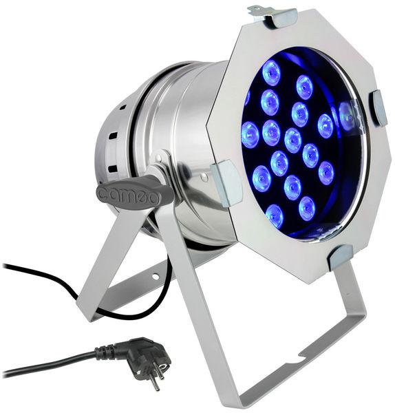 Cameo LED PAR 64 - 18 x 3W TRI Pol.